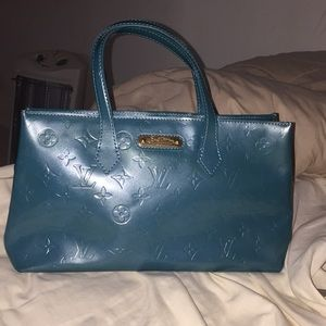 Louis Vuitton Bags - Louis Vuitton Vernis Wilshire PM in Galactic Bleu 7249608a4e